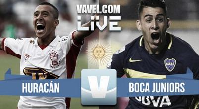 Huracán vs Boca Juniors EN VIVO online por el Torneo de la Independencia (0-0)