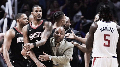 Ariza, posible causante de los altercados en el Staples Center
