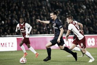 Les buts de FC Metz - PSG