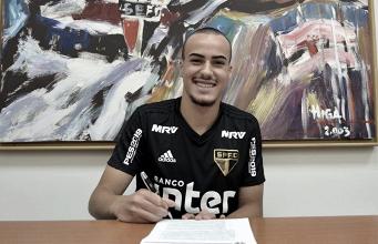 Igor Gomes renova contrato com o São Paulo até 2023