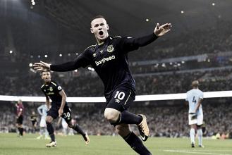 Everton no resistió, y Manchester City lo igualó en el final