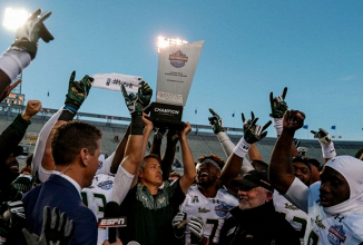 South Florida wins wild Birmingham Bowl over South Carolina 46-39 in overtime