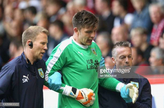 Nick Pope has successful surgery on dislocated shoulder but Burnley face goalkeeper crisis