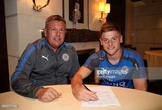 Leicester youngster Barnes commits future with a new four-year-deal