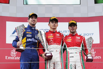 Formula 2: Leclerc storms to third Feature Race win in Austria