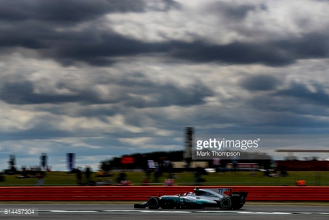 British GP: Bottas sets the pace in FP1, as Vettel tries the shield