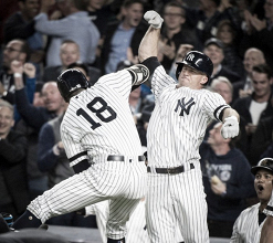 New York Yankees advance to the American League Division Series