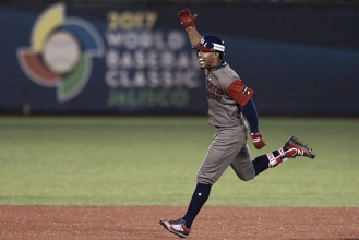 World Baseball Classic: Francisco Lindor homers twice as Puerto Rico defeats Mexico