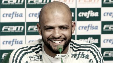 Felipe Melo adota política de 'falar menos' no Palmeiras e se posiciona contra grama sintética