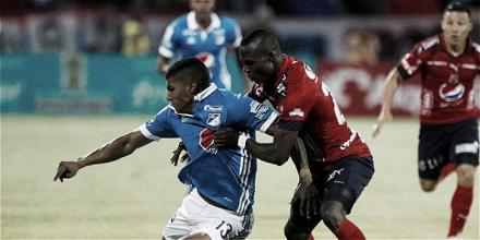 El fútbol Millonarios ante el DIM, pasó por los pies de Santiago Mosquera
