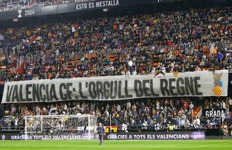 Levante - Valencia: jugadores pertenecientes a los dos bandos