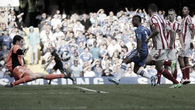 Stoke's unbeaten run broken by Chelsea