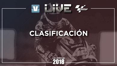 Clasificación GP de Las Américas 2018 de MotoGP en vivo y en directo online