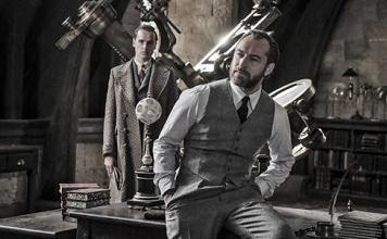 "Dumbledore aparece no primeiro trailer de ""Animais Fantásticos: os crimes de Grindewald"""