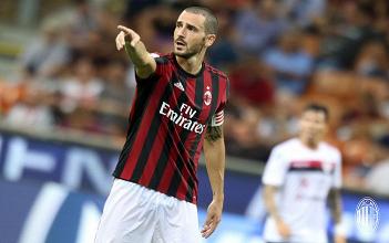 """Milan, Bonucci: """"Il derby con l'Inter lo vinciamo noi"""""""
