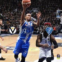 Legabasket Serie A - La Virtus vola ancora: domata Sassari (89-72)