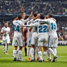 Il Real ne fa tre all'Eibar e mantiene il distacco dal Barcellona, Ronaldo di nuovo a secco