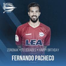 Fernando Pacheco cumple 25 años
