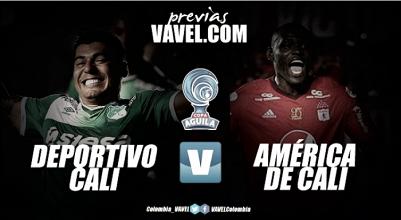 Deportivo Cali vs. América de Cali: el clásico define todo en la Copa Águila