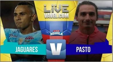 Jaguares vs Deportivo Pasto EN VIVO online por la Liga Aguila 2017