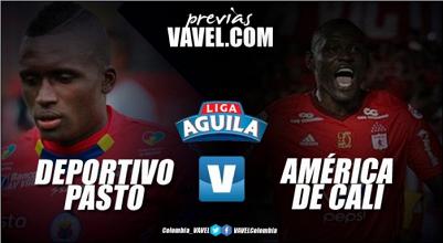 Deportivo Pasto vs. America de Cali: Partido correspondiente a la sexta fecha de la Liga Águila II