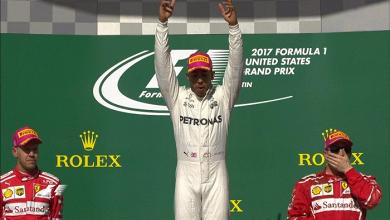 LIVE F1, Gp degli USA in diretta - Austin: Hamilton vince! Vettel 2°, Raikkonen 3°