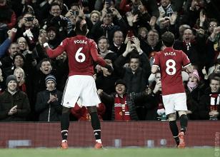 Con el regreso de Ibrahimovic y Pogba, el United triunfó