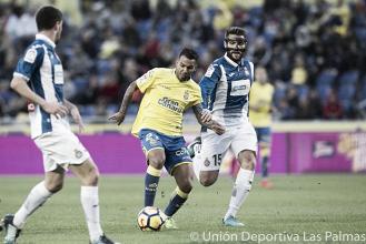 Las Palmas - Espanyol : puntuaciones de Las Palmas, jornada 15