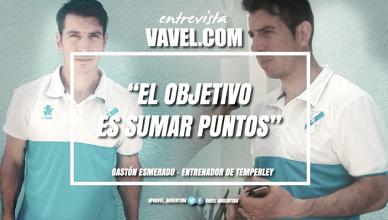 """Entrevista. Gastón Esmerado: """"El objetivo es sumar puntos"""""""