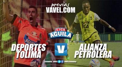Previa Deportes Tolima VS Alianza Petrolera: 'Aurinegros' visitan a 'pijaos' para llevarse los tres puntos