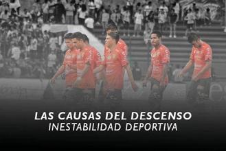 Causa del descenso: Inestabilidad deportiva en Jaguares de Chiapas