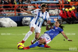 Imágenes del Pachuca 4-0 Cruz Azul en Liga Mx Femenil
