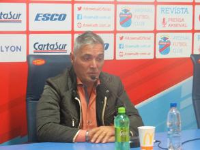 """Sergio Rondina: """"Fuimos contundentes e inteligentes para jugar"""""""