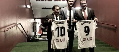 Juanito y Antonio presentados como embajadores