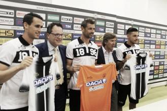 Da sinistra: Lasagna, Collavino, Bizzarri, Gerolin e Pezzella.