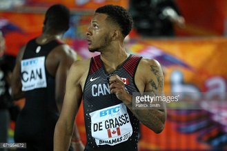 Andre De Grasse will be missed at the World Championships