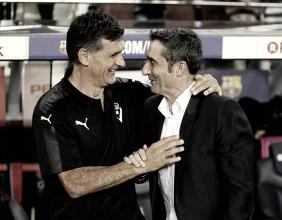 Mendilibar y Valverde, amistad y rivalidad a partes iguales