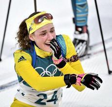 Hanna Oeberg, championne olympique de l'individuelle