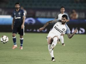 Gabigol entra no segundo tempo, e Internazionale empata com Schalke 04 na China