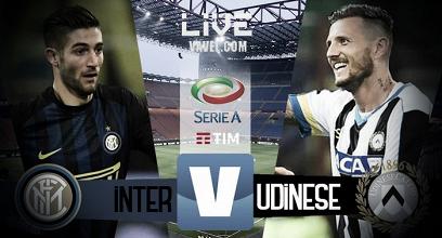 Inter - Udinese in diretta, LIVE trentottesima giornata di Serie A 2016/2017 (5-2) L'Inter si diverte con l'Udinese, friulani mai in campo