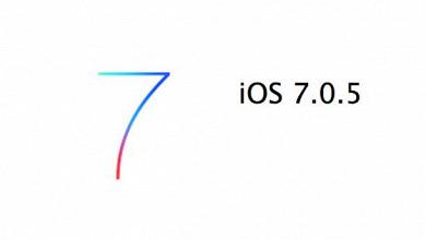 Apple lanza IOS 7.0.5 para determinados países