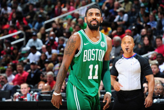 NBA - Boston Celtics inarrestabili, Irving al proscenio