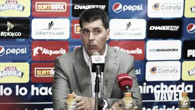 """Ismael Rescalvo: """"Los errores en el primer tiempo nos costaron el partido"""""""