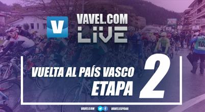 Resultado de la 2ª etapa de la Vuelta al País Vasco 2017: Albasini pesca en río revuelto