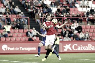 Manu Barreiro, el mejor ante el Real Oviedo