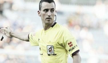 Jaime Latre, el juez del Real Sociedad-Valencia