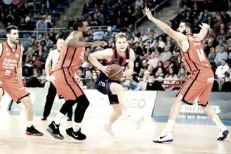 Baskonia se pone segundo en la liga Endesa