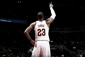 LeBron James scores incredible 57 points in a needed win for the Cleveland Cavaliers