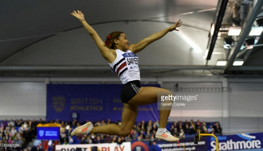 Jazmin Sawyers targets improvement in Birmingham after bronze at British indoor trials