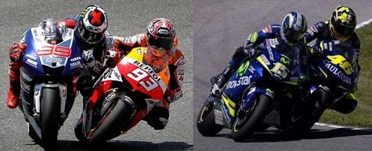 Alcuni dei duelli più famosi in curva 13 a Jerez